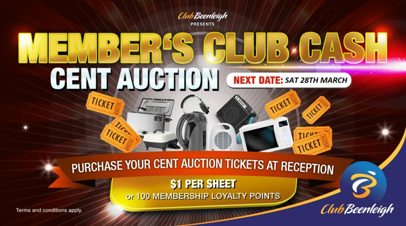 Members Cent Auction - TV MAR2020
